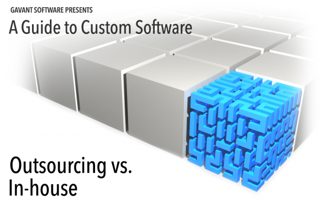 Outsourced software development utilizes resources external to your company