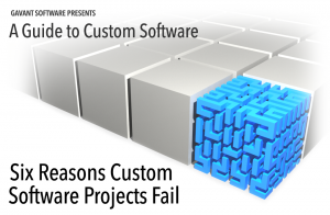 Part 4 highlights reasons custom software projects fail