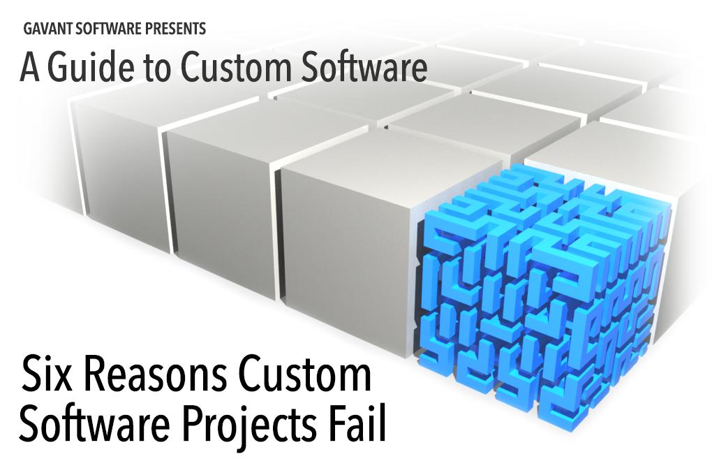 Six Reasons Custom Software Projects Fail