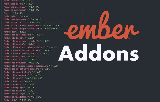 Leveraging Ember Addons